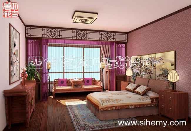 现代中式装修设计风格 唐山国泰公寓别墅设计效果