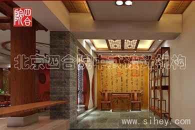中式风格装修设计 中式茶楼效果展示