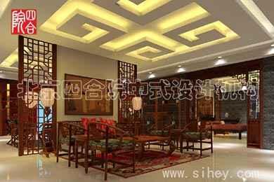 中式红木家具展厅效果展示